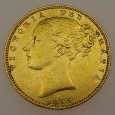 United Kingdom - Sovereign 1855 - Victoria - Gold