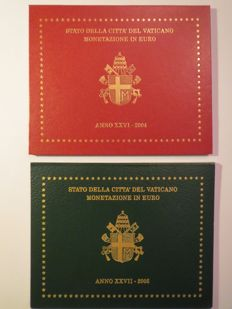 Vatican – 2004 and 2005 divisional series