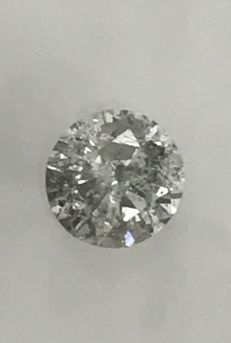 0.52ct Round Brilliant-Cut  Diamond Natural  color E Si3 +++Not  Reserve Price +++