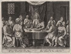 Crispijn van den Broeck (1524 - 1589) - The last supper - 1560/1580