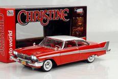 """Stephen King's """"Christine"""" Autoworld - Scale 1/18 - Plymouth Fury 1958 from the movie """"Christine"""""""