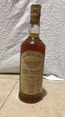Bowmore 21 years old - Islay single malt - OB