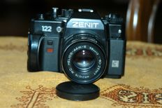 ZENIT 122 with HELIOS 44-M-6 58mm 1:2