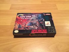 "Snes ""Contra III"", Fully Complete, for some the best shooter ever. Rare"