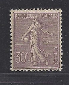 France 1903 - Type Semeuse signed Calves - Yvert n° 133