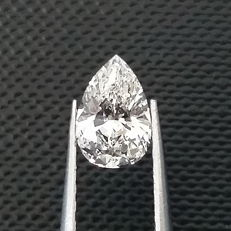 GIA 0.51 ct G/SI1 Pear Brilliant Diamond ***Original Image***