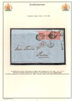 Great Britain - a collection of postal history 1851/1950s