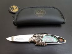 Franklin Mint - Official Harley Davidson Collectors Knife -1977 X LCR CAFE RACER - Limited Edition