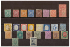 Kingdom of Italy – Collection of stamps from the first period