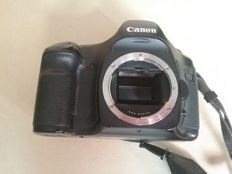 Full frame Canon D5 camera