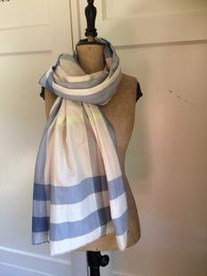 Original - Burberry - scarf – cotton.