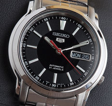 Seiko 5 SNK, men's watch, 2017, new condition