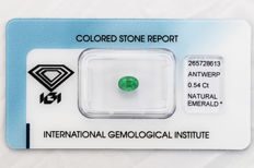 Emerald - 0.54 ct   *** No Reserve ***