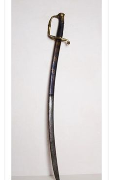French Sabre Infantry Officer. Mod. 1821