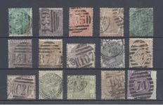 Great Britain 1855/1887 - Queen Victoria, a small lot