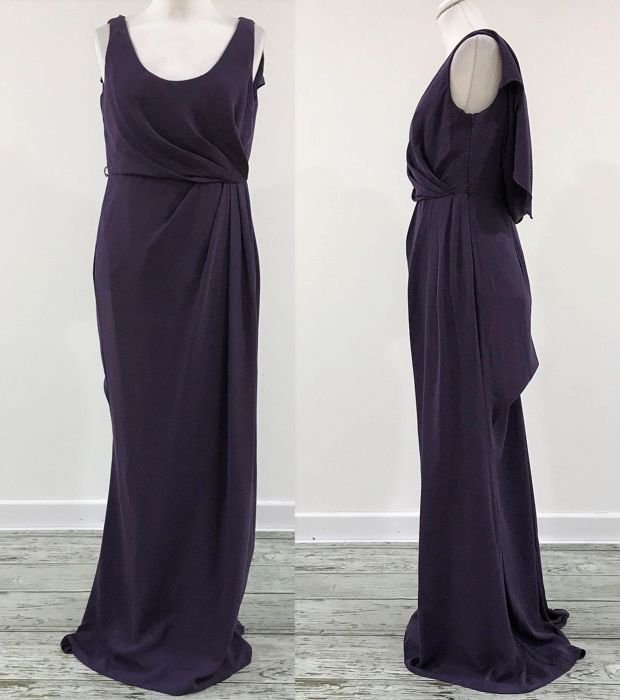 Vera Wang Purple Evening Dress Catawiki