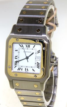 Cartier Santos Galbeé - Unisex watch