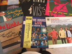 Nice Lot wit 8 albums of The Kinks