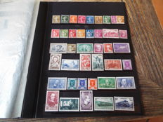 France 1932-1968 – Selection of stamps – Between Yvert no. 277B and 1563