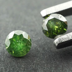 Fancy Green Diamond - 0.29 ct