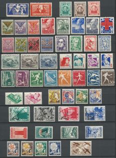 The Netherlands 1924/1936 – Selection between NVPH 134 and 292
