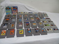 Lot of 42 games Nintendo Nes and super nes