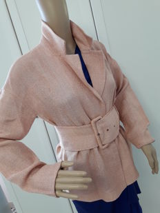 Prada - women's summer jacket with belt - made in Italy