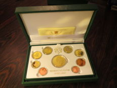 Vatican – 2010 proof divisional coin series (includes gold 'Caravaggio' medal).
