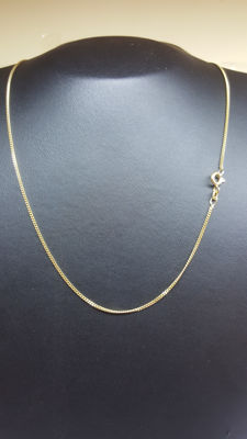 14 kt yellow gold unisex necklace