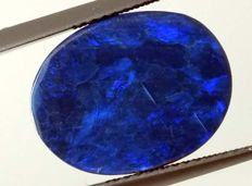 Blue Opal Doublet  - 15.95 x 12.39 x 4.24mm - 7.35ct