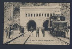 1900-1910 France 37 picture post cards with French locomotives.