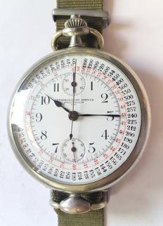Artiebolaget Servus Stockholm IMP marriage wrist or pocket watch --- Swiss made 1900s