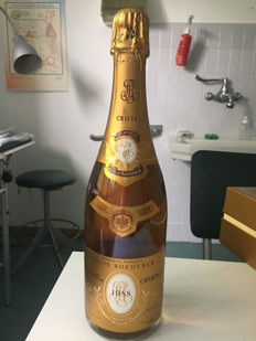 1988 Champagne Cristal Vintage - 1 bottle (75cl) in box