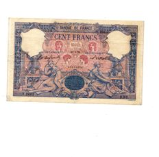France - 100 Francs Bleu et Rose 27-5-1896 - Fayette 21.9 - Pick 65b