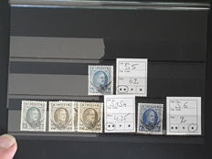 Belgium, 1900/1950, selection of official stamps, precanceled stamps and loose stamps