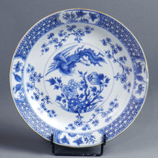 KANGXI B&B porcelain plate with phoenix - China - late 17th century