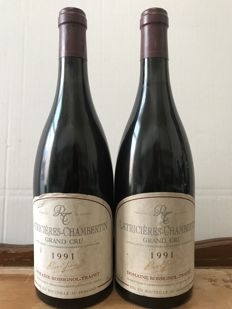 1991  Latricieres-Chambertin Grand Cru Domaine Rossignol-Trapet - Total 2 Bottles