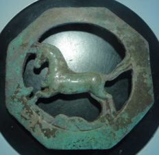 Medieval bronze horse harness d-70 mm
