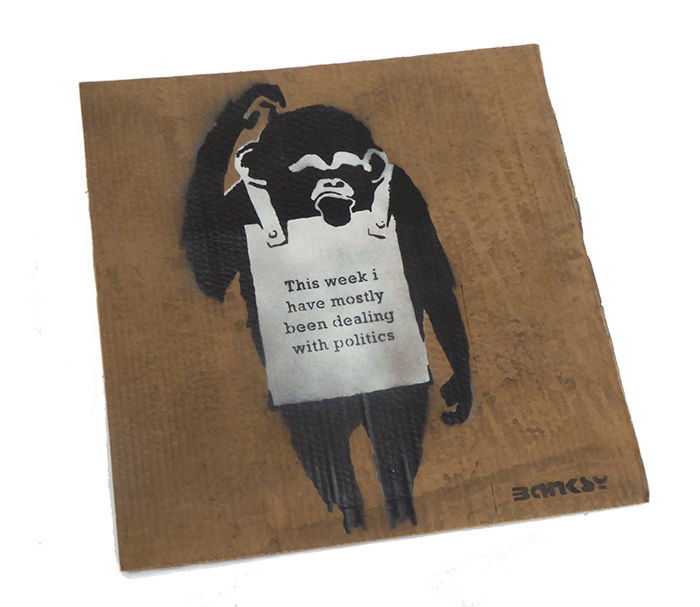 Not Banksy/STOT21stCplanB - This Week I Have Mostly Been Dealing With Politics