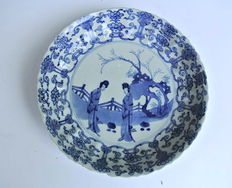 Porcelain plate - China - around 1680 (Kangxi period)