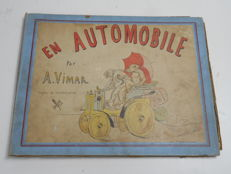 Children's book paperboard; Vimar - L'Automobile - no date