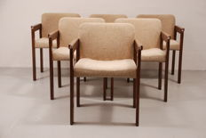 Just Meijer for Kembo – dining room/meeting room chairs with armrests