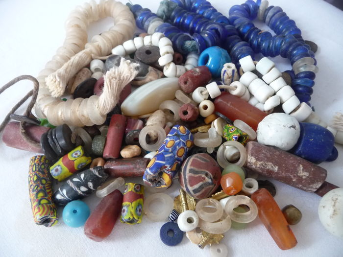 Beautiful Lot Of All Antique West African Trade Beads Catawiki