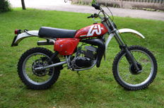 Aprillia - RC125 Enduro Twin shock de 1978