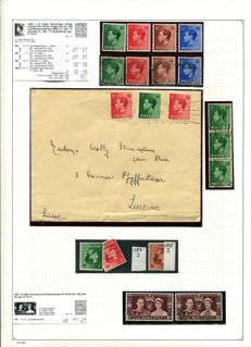 Great Britain - Collection Edward VIII - Elisabeth II 1936 through 1960 with many variations