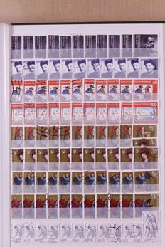 Federal Republic of Germany 1949/1993 – Stock of a approx. 12,000 stamps in three stock books