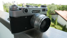 ZORKI 5 with jupiter 8 Very rare Soviet camera