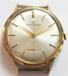 Movado Vintage classic gold wrist watch - Switzerland ,1970s