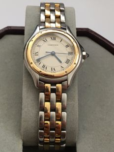 Cartier — Panthere Ronde PM 750 gold steel— women — 2011- today