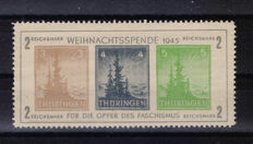 Germany, Thuringia, 1946 - Sheet - Michel no. 1x.